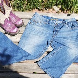 Wrangler Jeans - Rock 47 Denim Jeans by Wrangler. 38 W x 30 L